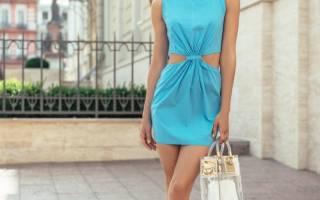 Голубое платье: 70 стильных и нежных идей для обворожительного образа
