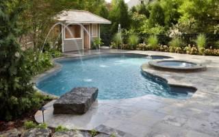 Летний комфорт за городом: бассейн на даче, 70 удачных вариантов в фотография
