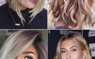 Окрашивание волос: новинки 2020 года