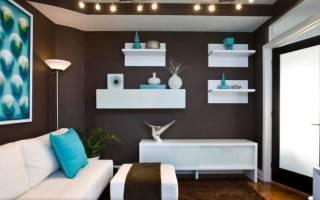 Гостиная в двух цветах: гармоничные комбинации для красивого интерьера