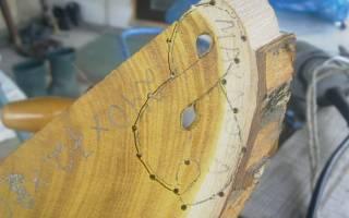 Мастерим кулон из дерева