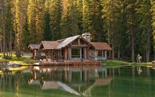 Интерьер недели: деревянный дом на берегу реки