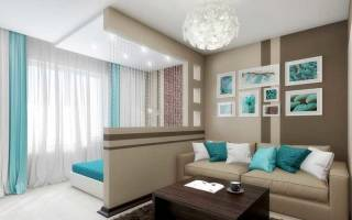Как зонировать комнату на спальню и гостиную: советы дизайнера