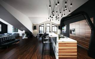Дизайн однокомнатной квартиры 37 квадратных метров с фото