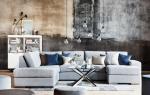 Гостиная недели: шведский минимализм на чердаке