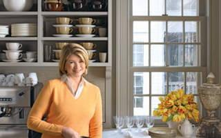 Весенний субботник на кухне: 18 советов от Марты Стюарт