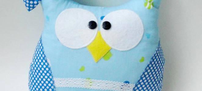 Подушка-сова своими руками