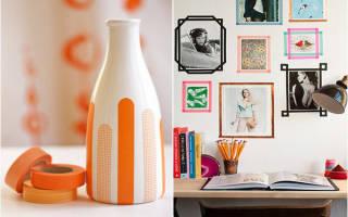 Цветной скотч Washi Tape для декора: фото с завораживающими идеями