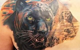 Грациозная пантера в татуировках для девушек и мужчин