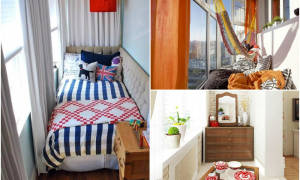 Квартира недели: камин и внутренний балкон