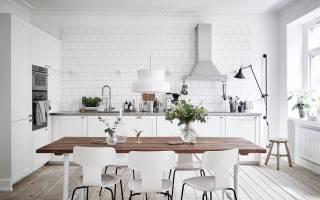 17 кухонь в скандинавском стиле: правила и принципы оформления
