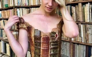 Дизайнер из Франции создает сказочные платья из необычных материалов
