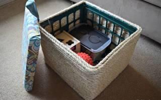 Идеи применения пластмассовых ящиков