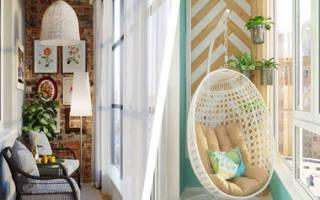 10 идей, как превратить балкон в дачную веранду