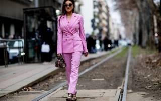 Модные новинки: Женские костюмы 2020