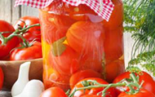 Самый вкусный маринад для заготовки помидоров