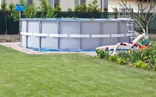 Как выбрать бассейн на дачу: советы и примеры