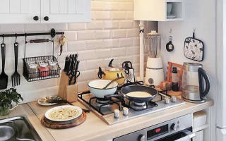 5 практичных идей для маленькой кухни