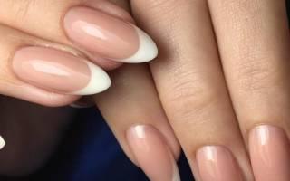 Нежность и элегантность маникюра с миндалевидными ногтями