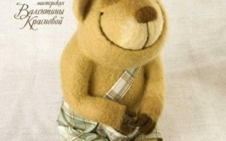 Игрушки из войлока от Валентины Терковой