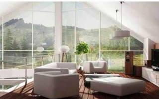 Квартира с панорамными окнами и невидимыми стенами