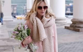 Модный женский шарф: Новинки 2020 года и как их носить