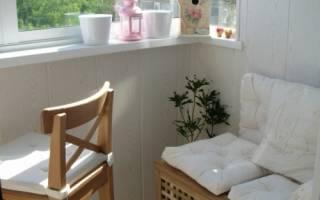 Крутые идеи для маленького балкона