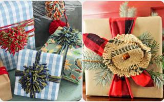 12 идей оригинальной упаковки новогоднего подарка