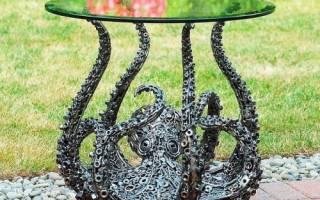 Невероятные скульптуры из металлолома