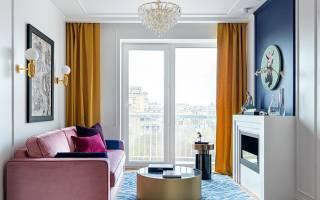 Квартира с американской мебелью на Кутузовском проспекте