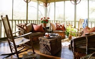 17 уютных интерьеров с креслом-качалкой