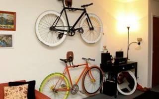 4 совета по хранению велосипеда в квартире