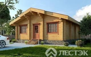 Для большой семьи: деревянный дом из брусав Подмосковье