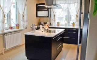 Маленькая студия с двумя спальнями и кухней-островом