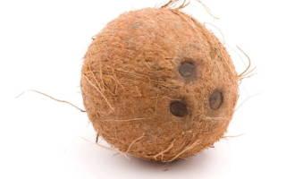 Как правильно чистить кокос в домашних условиях ножом