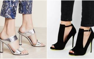 Модный женский каблук: тренды 2020