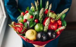 Красочные букеты, которые можно съесть
