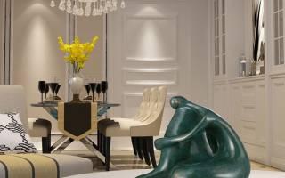 Скульптура в интерьере: 5 рекомендаций и 25 примеров