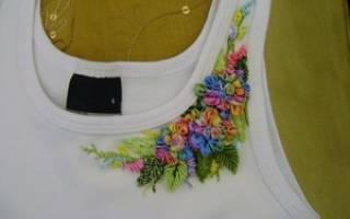 Идеи вышивки на одежде