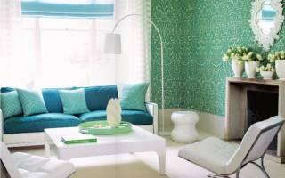 Зеленый цвет в интерьере: модные тенденции и фото-идеи яркого дизайна