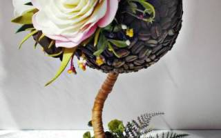 Топиарий из фоамирана: мастер-класс, интересные идеи