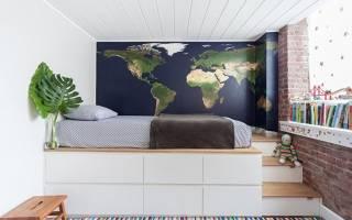 Кровать-подиум для спальни