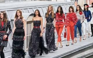 Коллекция Шанель (Chanel) весна-лето 2020 года