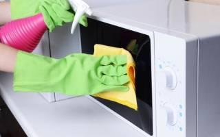 Как убрать неприятный запах в микроволновке: простые методы