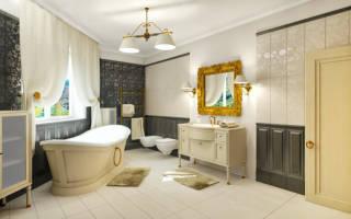 До и после: классическая ванная в светлых тонах