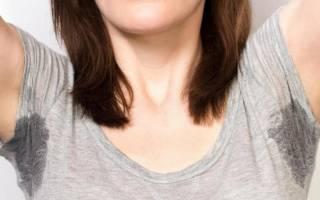 Как вывести пятна пота на одежде