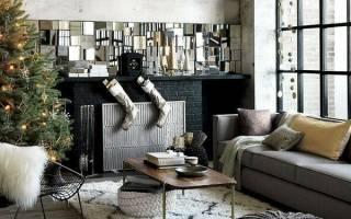 Идеи декорирования квартиры на Новый год 2020