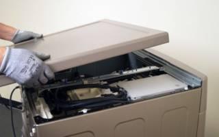 Как снимать крышку со стиральной машины Индезит и других брендов