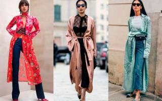 Стильный халат: Новинки на фото