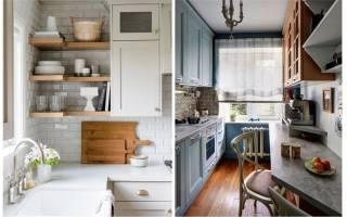 Дизайн узкой кухни:7 полезных советов